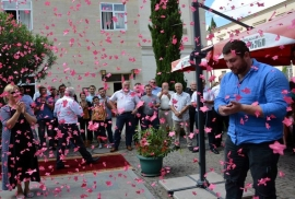 Lasha Talakhadze star was opened in Kutaisi